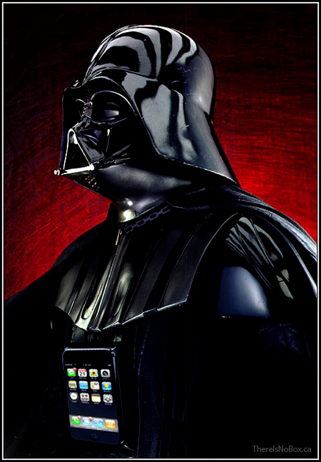 Darth Vader iPhone Upgrade